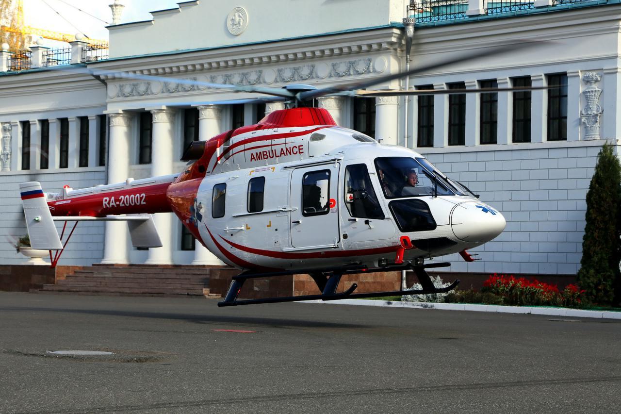 Экстренная медицинская помощь в Подмосковье теперь будет прибывать также и с воздуха