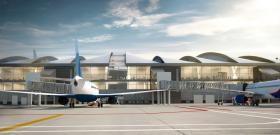 Президент Российской Федерации осмотрел новый ростовский аэропорт