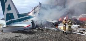 В Бурятии разбился пассажирский самолет